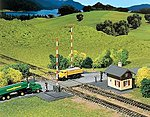 Operating Level Grade Crossing Kit -- N Scale Model Railroad Accessory -- #222169