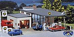 BP Gas Station Kit -- N Scale Model Railroad Building -- #232219