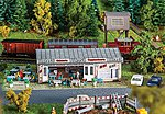 Tiziano Ice-Cream Parlor Kit -- N Scale Model Railroad Building -- #232327