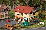 Butcher Shop & Bakery Kit -- N Scale Model Railroad Building -- #232336