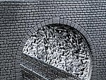 Tunnel Tube Rock Structure -- N Scale Model Railroad Tunnel -- #272636
