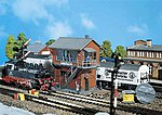 Mittelstadt Yard Tower -- Z Scale Model Railroad Building -- #282717
