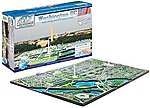 Washington DC Skyline 1100pcs -- 3D Jigsaw Puzzle -- #40018