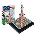 Statue of Liberty with Light 37pcs -- 3D Jigsaw Puzzle -- #bd-l102