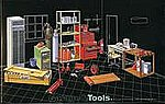 Mechanic Tools -- Plastic Model Vehicle Accessory Set -- 1/24 Scale -- #11032