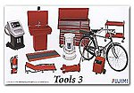 Garage Tools Set #3 -- Plastic Model Vehicle Accessory Set -- 1/24 Scale -- #11373