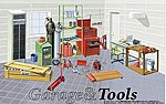 1/24 Mechanic Tools