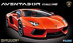 Lamborghini Aventador Sports Car -- Plastic Model Car Kit -- 1/24 Scale -- #12397