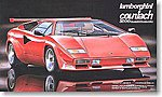 Lamborghini Countach 5000 Quattorovalvole -- Plastic Model Car Kit -- 1/24 Scale -- #12552