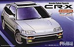Honda CR-X Sports Car -- Plastic Model Car Kit -- 1/24 Scale -- #3807