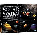 3-D Glow-in the-Dark Solar System Mobile Making Kit -- Astronomy Kit -- #5219