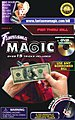 Pen Thru Bill with DVD -- Magic -- #507dv