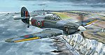 Hawker Hurricane Mk IIc Fighter -- Plastic Model Airplane Kit -- 1/32 Scale -- #32012