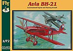 Avia BH21 Trainer/Fighter Biplane -- Plastic Model Airplane Kit -- 1/72 Scale -- #72011