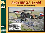 Avia BH21J/Ski Czech Biplane Trainer/ Fighter -- Plastic Model Airplane Kit -- 1/72 Scale -- #72020
