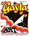 42''x22'' Baby Bat Delta Wing Kite -- Single-Line Kite -- #111