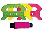 Fluorescent Large Kite Winder with 400' Super Twine -- Kite Accessory -- #800