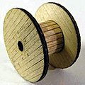 Cable Reel 3-Pack Kit (Laser-Cut Wood) -- HO-Scale -- #1119