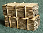 3 x 12'' Lumber Load Kit -- Two 14' Loads (2) -- N Scale Model Railroad -- #13314