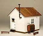 West End Shack Kit -- HO-Scale Modle Building -- #1901
