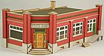 State Bank Kit -- HO Scale Model Building -- #19040