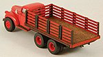 Stake Truck Bed (Laser-Cut Wood Kit) -- HO Scale Vehicle Accessory -- #19046