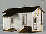 Team Yard Office Kit -- HO Scale Model Building -- #1909