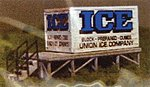 Bulk Ice Platform Kit (Laser-Cut Wood) -- N Scale Model Accessory -- #2363
