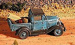 Ford 1930 Model A Pickup (Unpainted Metal Kit) -- N Scale Model Railroad Vehicle -- #57006