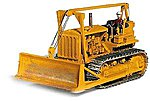 1940s Bulldozer w/Operator Figure (Unpainted Kit) -- HO Scale Model Railroad Vehicle -- #61006