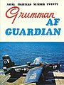 Naval Fighters- Grumman AF Guardian -- Military History Book -- #20
