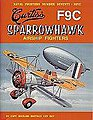 Naval Fighters- Curtiss F9C Sparrowhawk Airship Fighter -- Military History Book -- #79