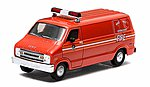 1976 Dodge B-100 Van FDNY -- Diecast Model Truck -- 1/64 Scale -- #29804