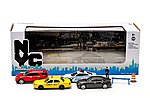 NYC Traffic Scene -- Diecast Model Car Set -- 1/64 Scale -- #56090