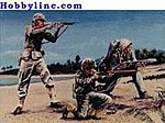 US Marines (20) -- Plastic Model Military Figure -- 1/32 Scale -- #02201