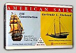 USS Constitution and Gertrude L. Thebaud -- Plastic Model Sailing Ship Kit -- #03303