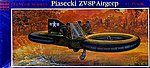 Piasecki VZ-8P Airjeep -- Plastic Model Airplane Kit -- 1/35 Scale -- #05203