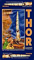 THOR Missle & Launch Pad 1-87 -- Science Fiction Plastic Model -- #08904