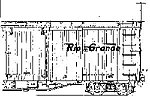 DRGW Boxcar Hardware Kit -- O Scale Model Train Part -- #3001