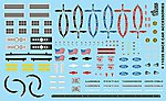 1/24-1/25 Race Cars Accessories - Emblems, Seatbelts, etc. -- Plastic Model Vehicle Decal -- #11039