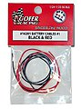 1/24-1/25 Battery Cables Black & Red
