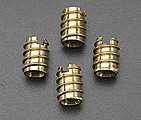 Brass Threaded Insert 1/4-20 (4)