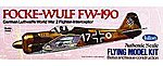 16-1/2'' Wingspan Fw190 Kit