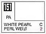 Solvent-Based Acrylic White Pearl 10ml Bottle (6/Bx)