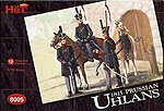 Prussian Uhlans -- Plastic Model Military Figure Set -- 1/72 Scale -- #8005
