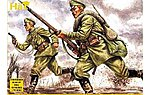WWI Russian Infantry -- Plastic Model Military Figure Set -- 1/72 Scale -- #8061