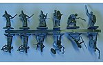 Imperial Roman Auxiliaries -- Plastic Model Military Figure Set -- 1/72 Scale -- #8074