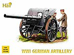 WWI German Artillery -- Plastic Model Weapon Kit -- 1/72 Scale -- #8109