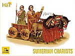 Sumerian Chariots -- Plastic Model Military Vehicle Kit -- 1/72 Scale -- #8130