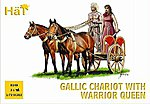 Celtic Chariot with Queen -- Plastic Model Military Vehicle Kit -- 1/72 Scale -- #8140